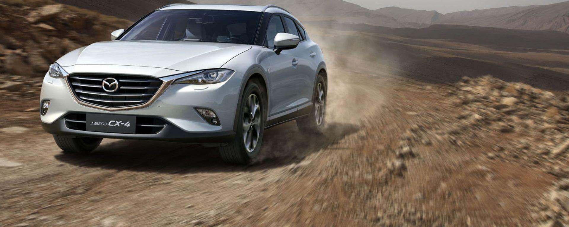 Mazda CX-4: il nuovo crossover medio presentato a Pechino
