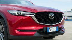 Mazda CX-5 .2 Skyactiv-D Exclusive AWD: dettaglio del frontale