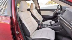 Mazda CX-5 2016: i sedili anteriori