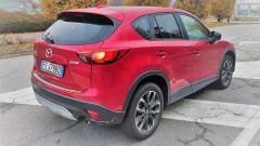 Mazda CX-5 2016: vista 3/4 posteriore