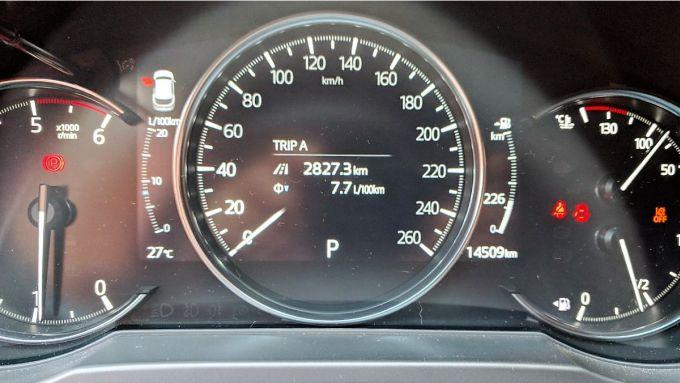 Mazda CX-5 2.2 Skyactiv-D AWD Exclusive 2019: i consumi al termine della prova