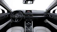 Mazda CX-5: gli interni