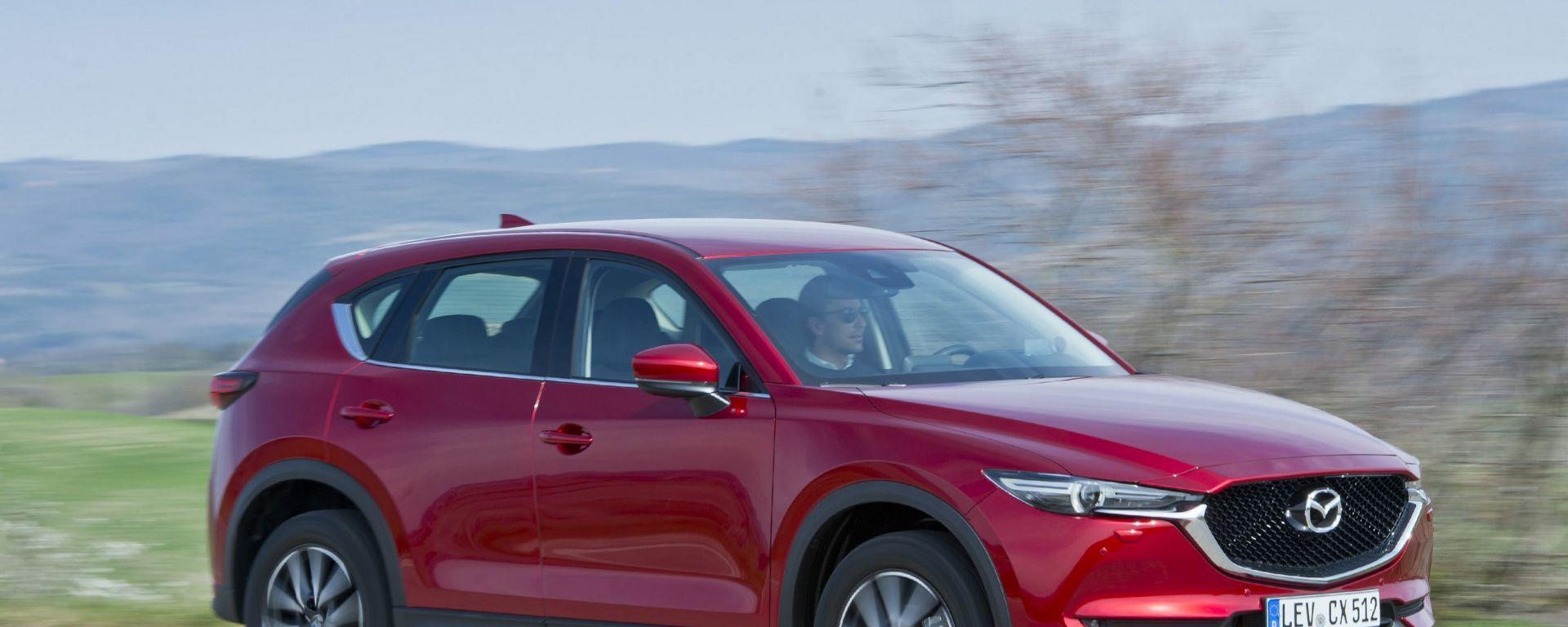 Mazda CX-5: in arrivo nuovi motori per il Suv di Hiroshima
