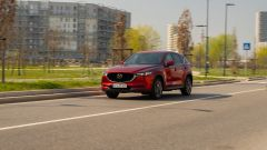 Mazda CX-5 Model Year 2021: per le strade di Milano