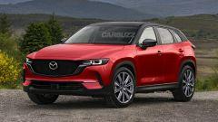 In anteprima il render grafico di nuova Mazda CX-50