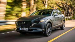 Nuova Mazda CX-30 EV elettrica: la stampa UK prova il prototipo