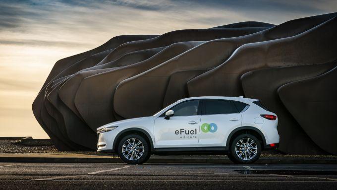 Mazda ed e-Fuel Alliance per l'auto a idrogeno