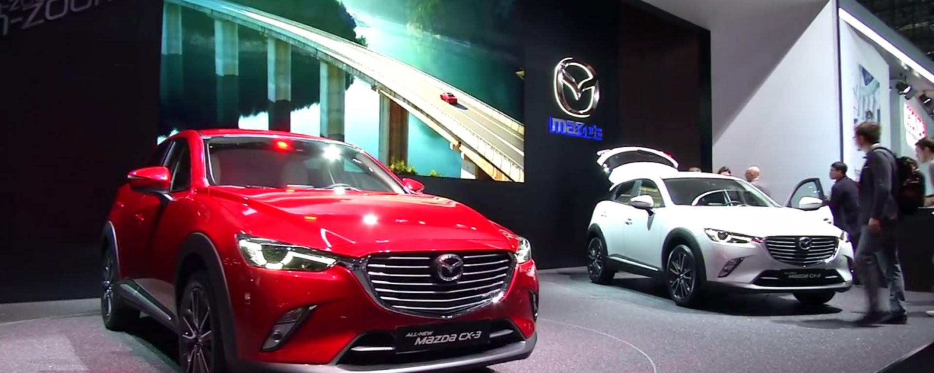 Mazda: il video dallo stand