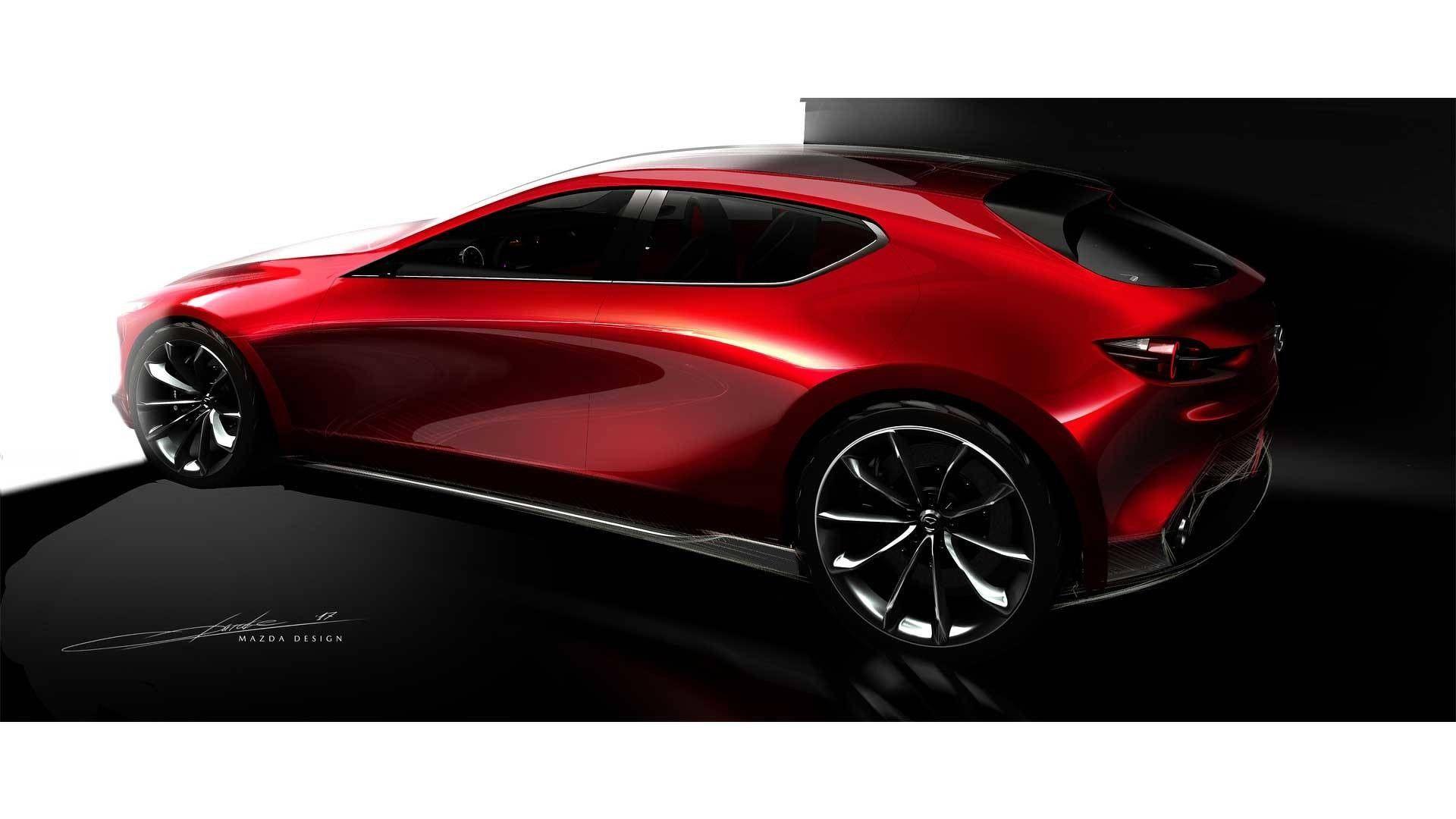 2019 G Wagon >> Nuova Mazda 3 Concept: al Salone di Ginevra 2018 con
