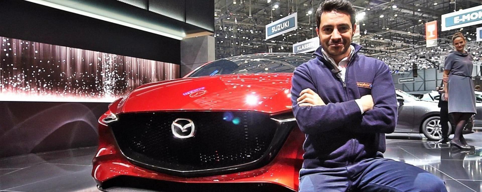 Nuova Mazda 3 Concept: in video dal Salone di Ginevra 2018