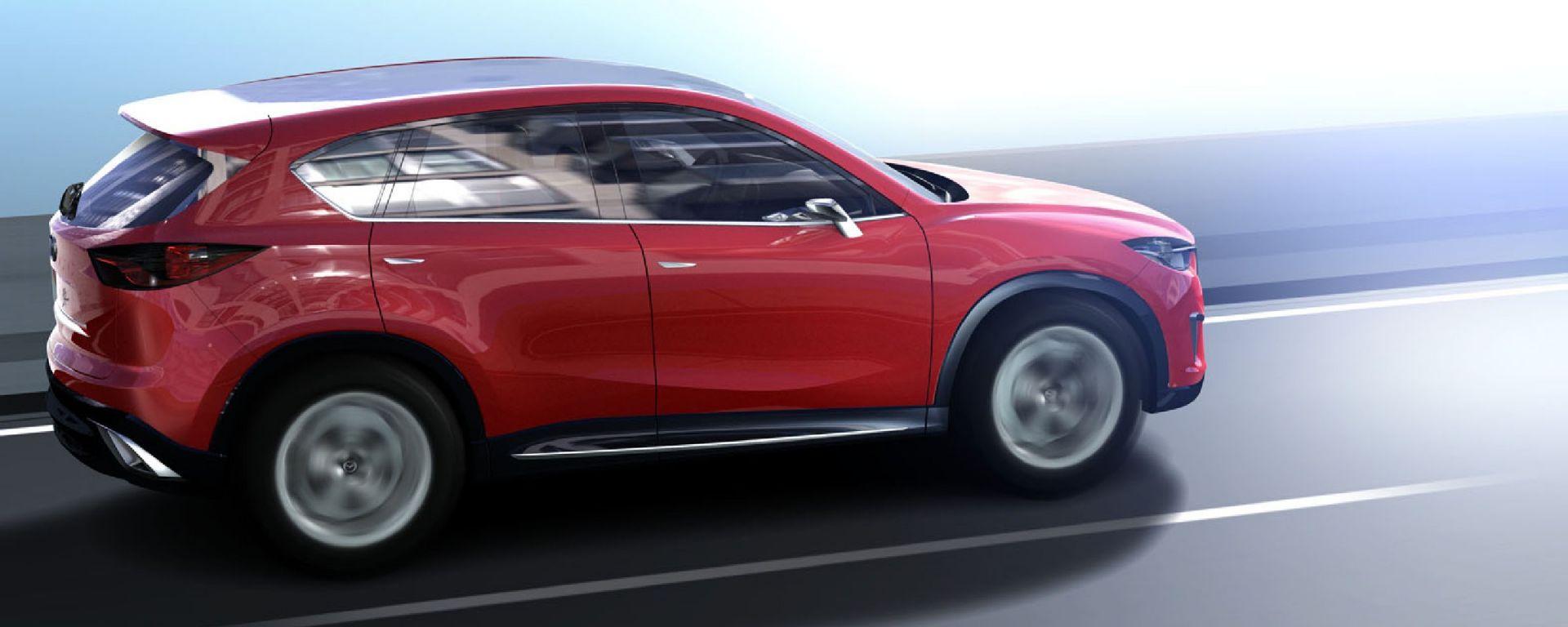Mazda Minagi, nuove foto e dettagli