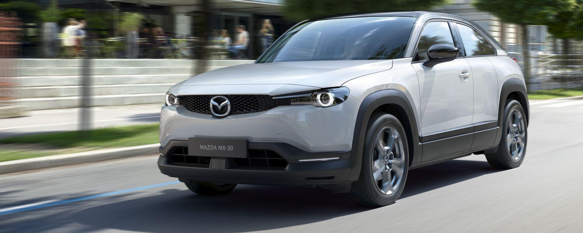 Mazda MX-30 2020 vista 3/4 anteriore