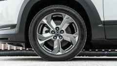 Mazda MX-30: dettaglio dei cerchi in lega leggera