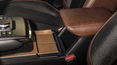 Mazda MX-30: il sughero sulla console centrale