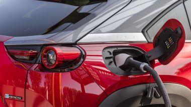 Mazda MX-30 in carica