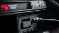 Mazda MX-5 RF 2019 vista accessori: Prese USB, 12V, AUX e sedili riscaldabili
