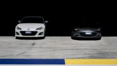 Mazda MX-5 RF vs. Subaru BRZ 2017: la sfida in pista all'autodromo di  Modena