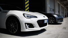 Mazda MX-5 RF vs. Subaru BRZ 2017: sulla pitlane