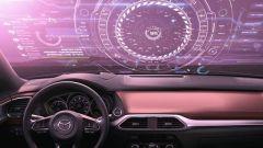 Mazda parabrezza 3D: ecco come potrebbe apparire