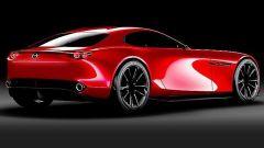 Mazda RX Vision Concept: vista 3/4 posteriore