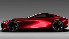 Mazda RX Vision Concept: vista laterale