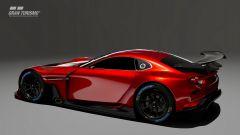 Mazda RX-Vision GT3 Concept: visuale di 3/4 posteriore