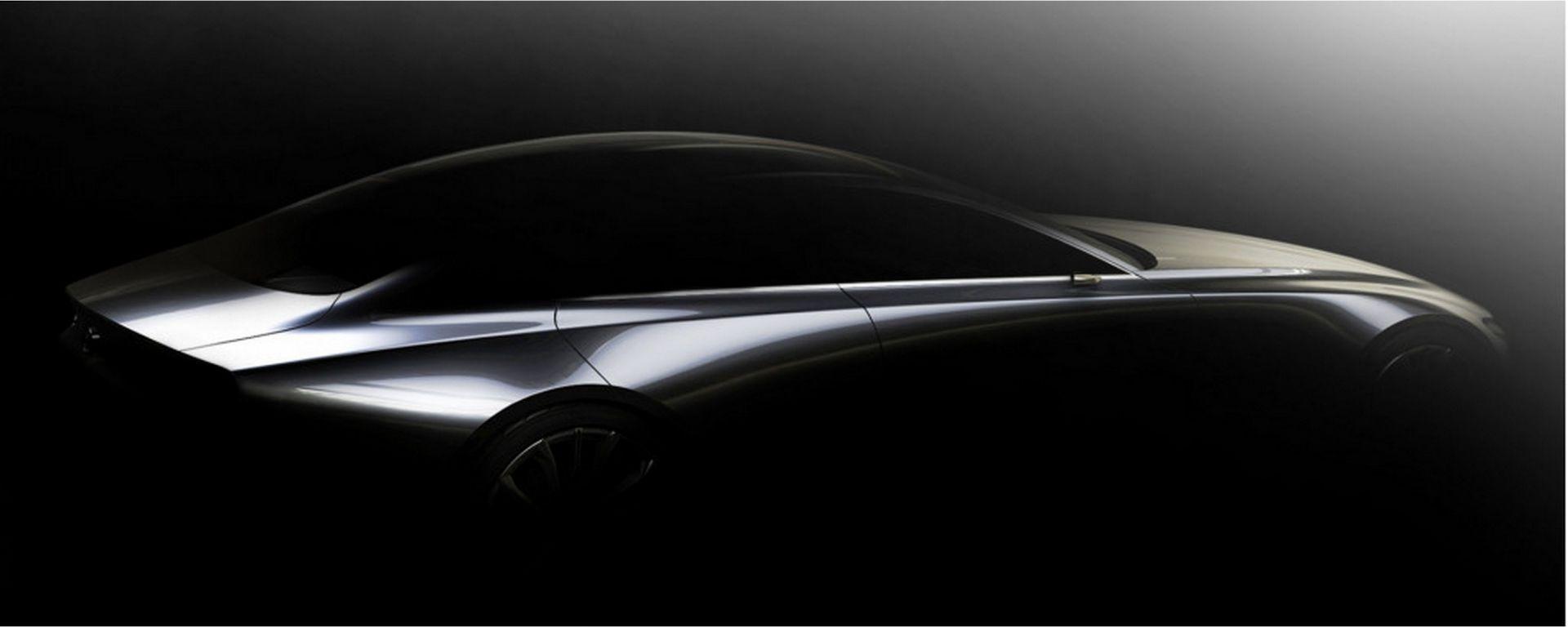 Mazda sedan concept al Tokyo Motor Show