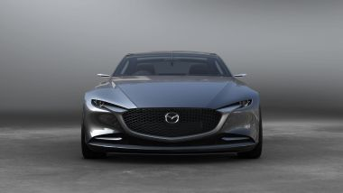 Mazda Vision Coupé: frontale