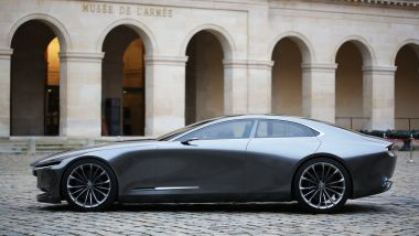 Mazda Vision Coupé: laterale