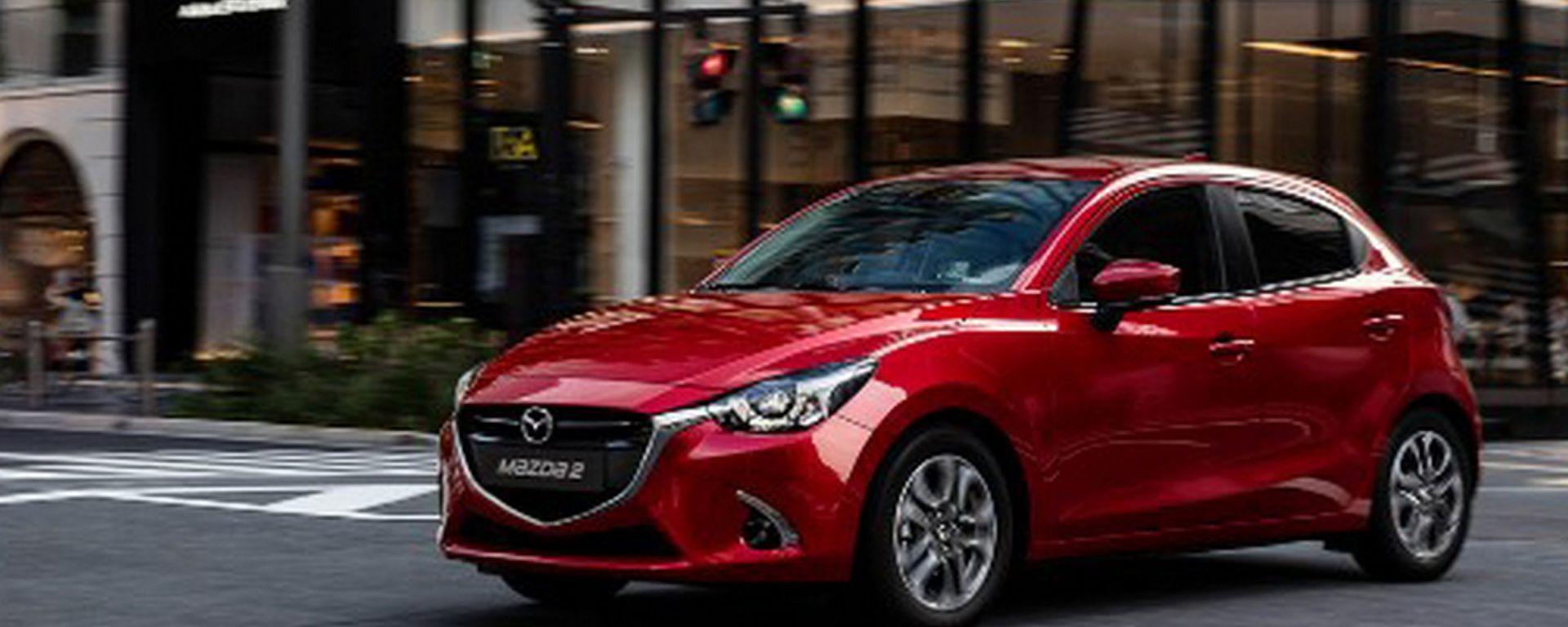 Mazda2 model year 2017: poche modifiche, prezzi da 14.050 euro