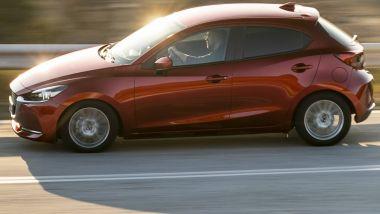 Mazda2, nuova generazione su pianale Yaris Hybrid