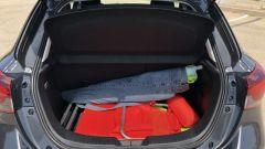 Mazda2 Skyactiv-G M Hybrid: il bagagliaio