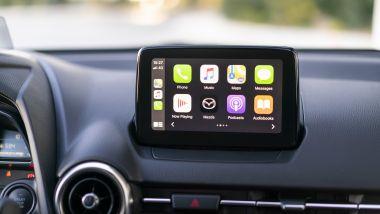 Mazda2 Skyactiv-G M-Hybrid: il display da 7''