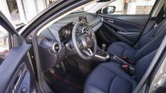 Mazda2 Skyactiv-G M Hybrid: il posto di guida