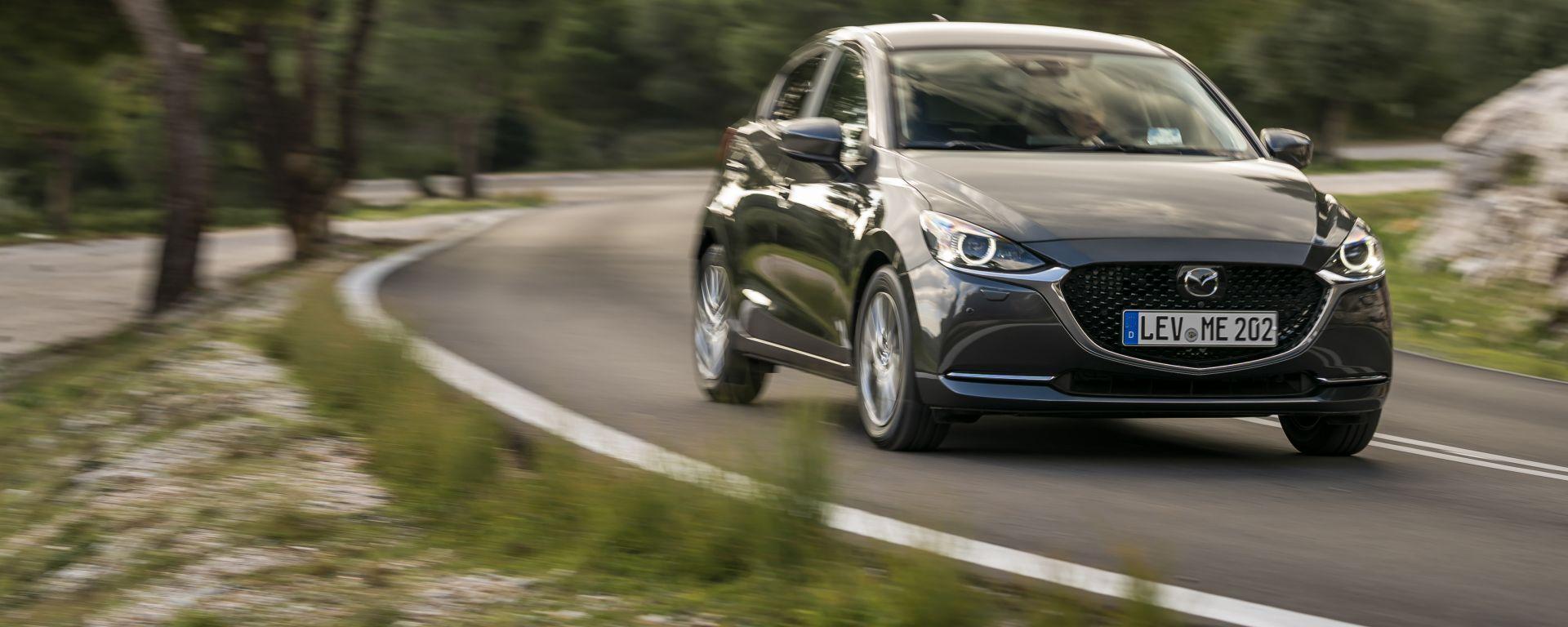 Mazda2 Skyactiv-G M Hybrid: l'utilitaria giapponese ora è mild-hybrid