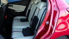 Mazda2, sul divanetto lo spazio è un po' ridotto