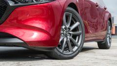 Mazda3 2.0 Skyactiv G M Hybrid Exclusive, dettaglio del fascione anteriore