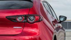 Mazda3 2.0 Skyactiv G M Hybrid Exclusive, il gruppo ottico posteriore