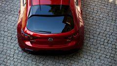 Mazda3 2021: il posteriore visto dall'alto