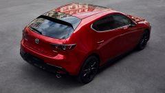 Mazda3 2021: vista 3/4 posteriore
