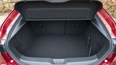 Mazda3: dettaglio del bagagliaio