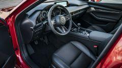 Mazda3: dettaglio dell'abitacolo