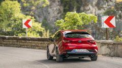 Mazda3: il posteriore