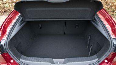 Mazda3: il vano posteriore