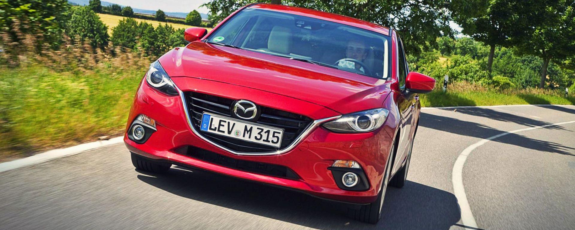 Mazda3 SkyActiv-D 1.5: il piccolo turbodiesel supera la prova