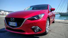 Mazda3 SkyActive-D 1.5 diesel: dettaglio del frontale