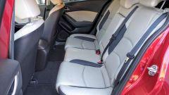 Mazda3 SkyActive-D 1.5 diesel: i sedili posteriori