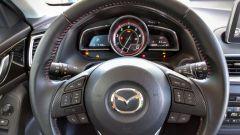 Mazda3 SkyActive-D 1.5 diesel: il quadro strumenti