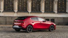 Mazda3: vista 3/4 posteriore