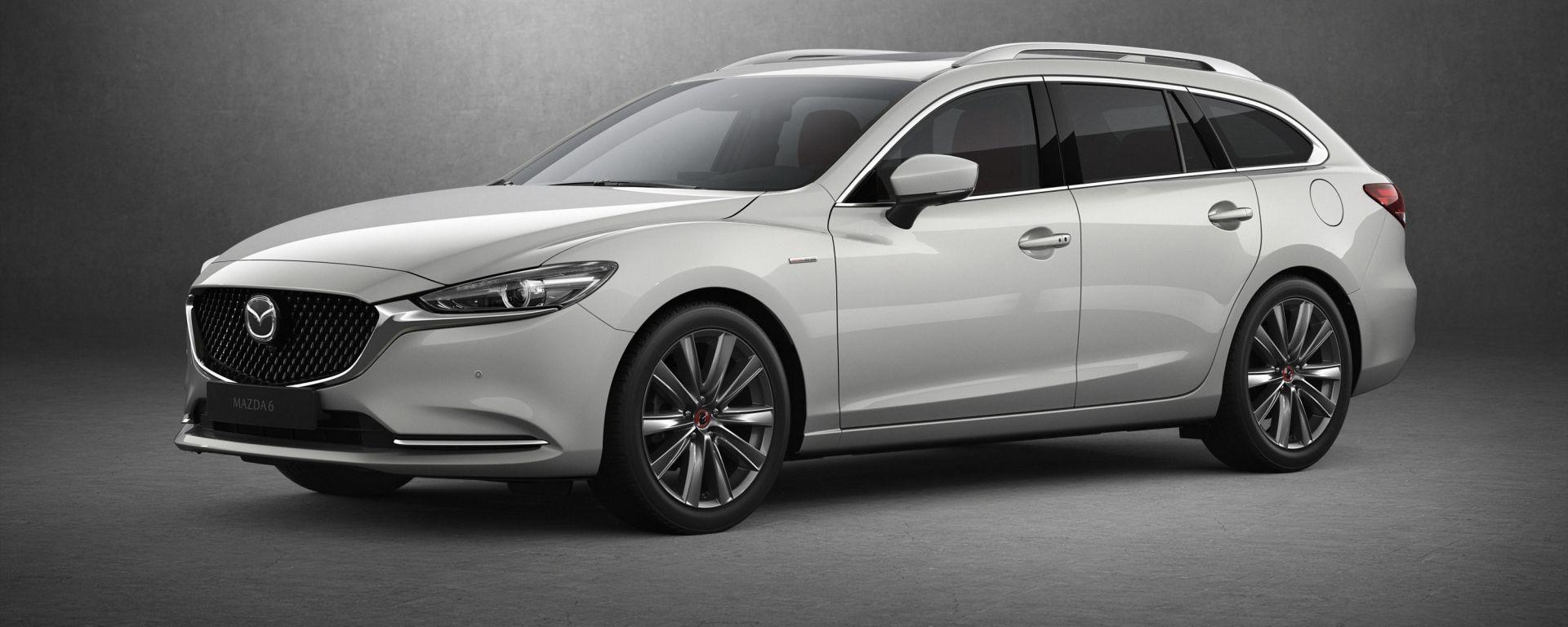 Mazda6 Wagon 2021, edizione 100th Anniversary
